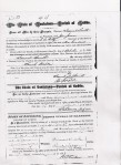 Marriage Certificate Sarah Walker Samuel Smith